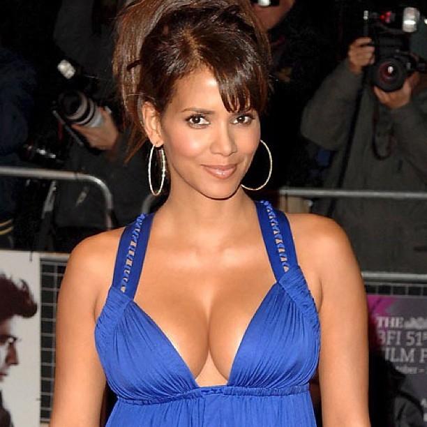 Halle Berry Breast Implants