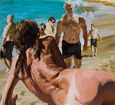 Eric-Fischl-Scenes-of-Late-Paradise-The-Welcome-oil-on-linen-78x86-in-2007.jpg