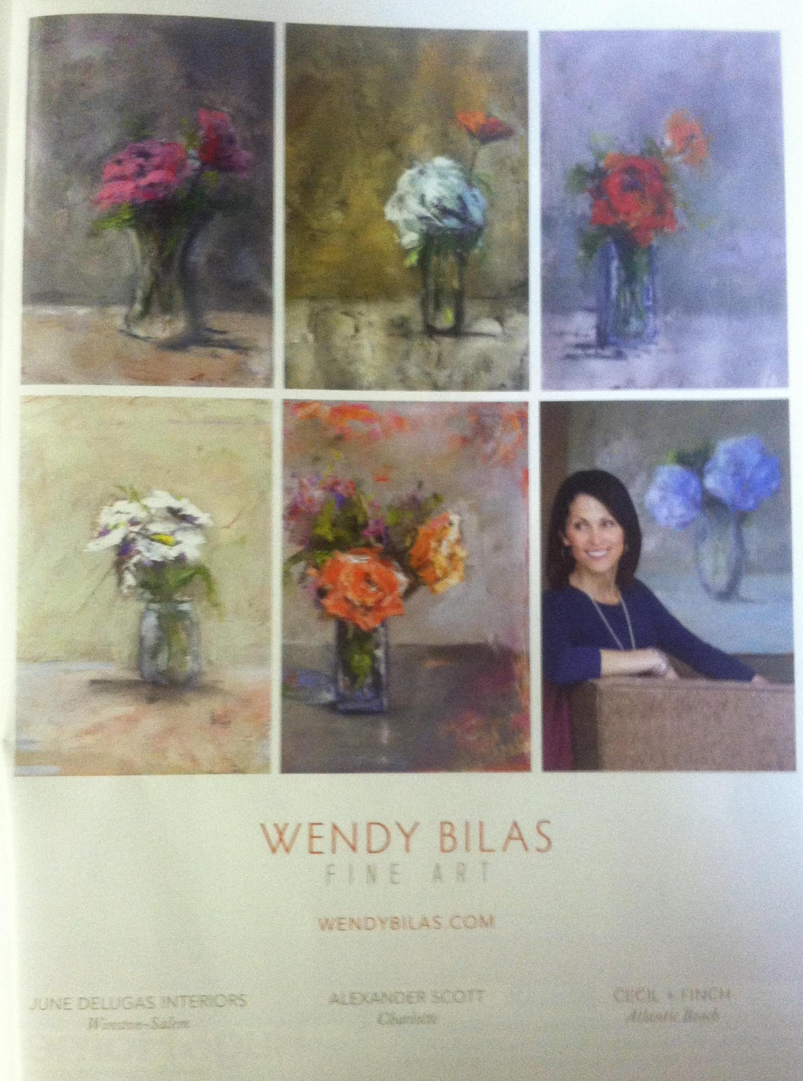 Wendy Bilas is an Exhibiting Artist in our Monday morning class