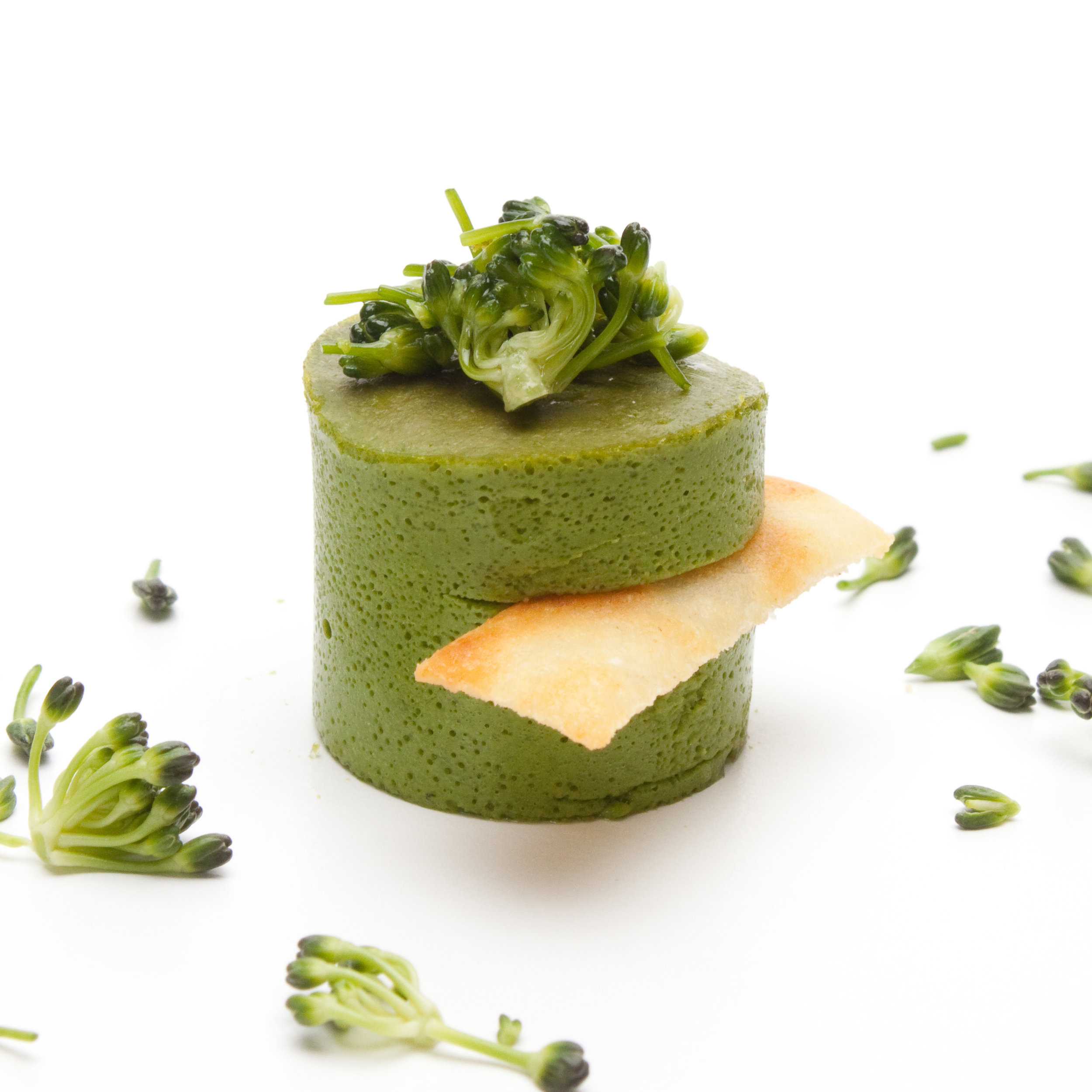 Warm Broccoli Souffle