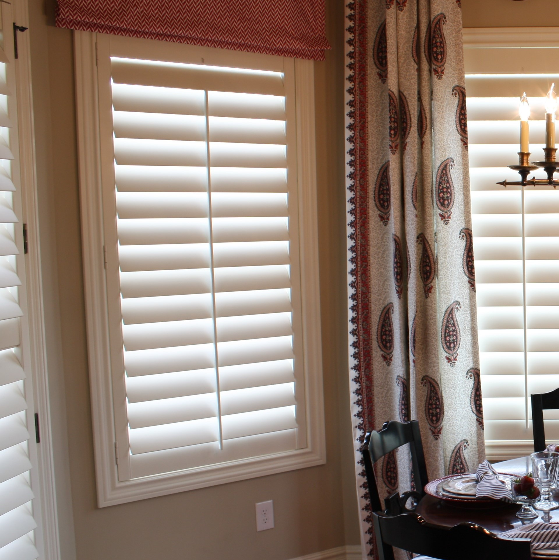 Wood shutter with upgraded Alta casing