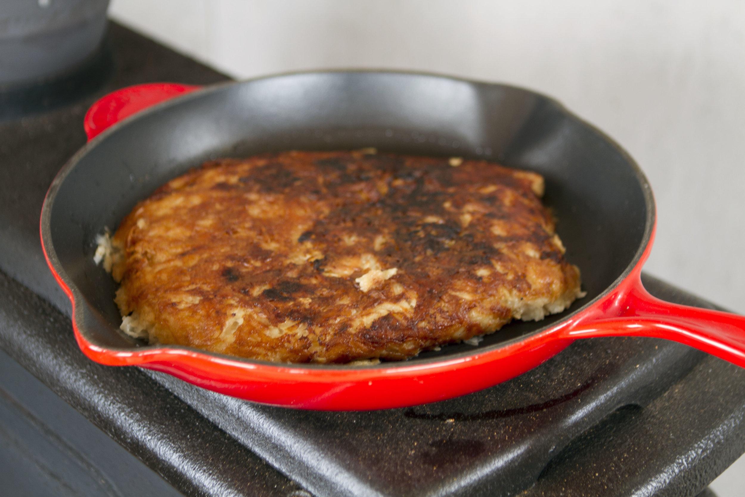 fring frang in pan