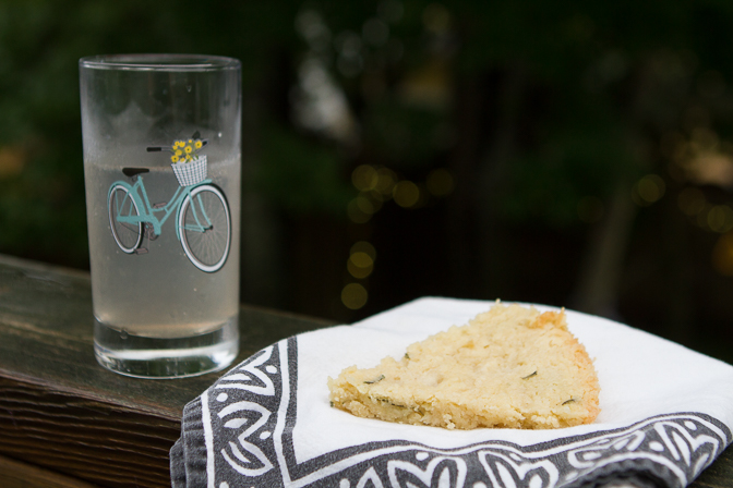 drink and shortbread