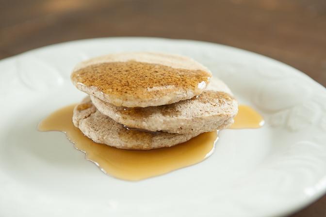 Ash's Fermented Buckwheat Pancakes