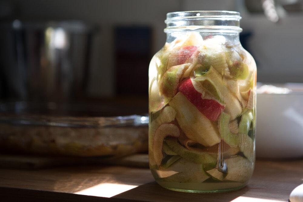 Apple cider vinegar beginnings