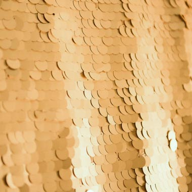 Large Gold Sequin