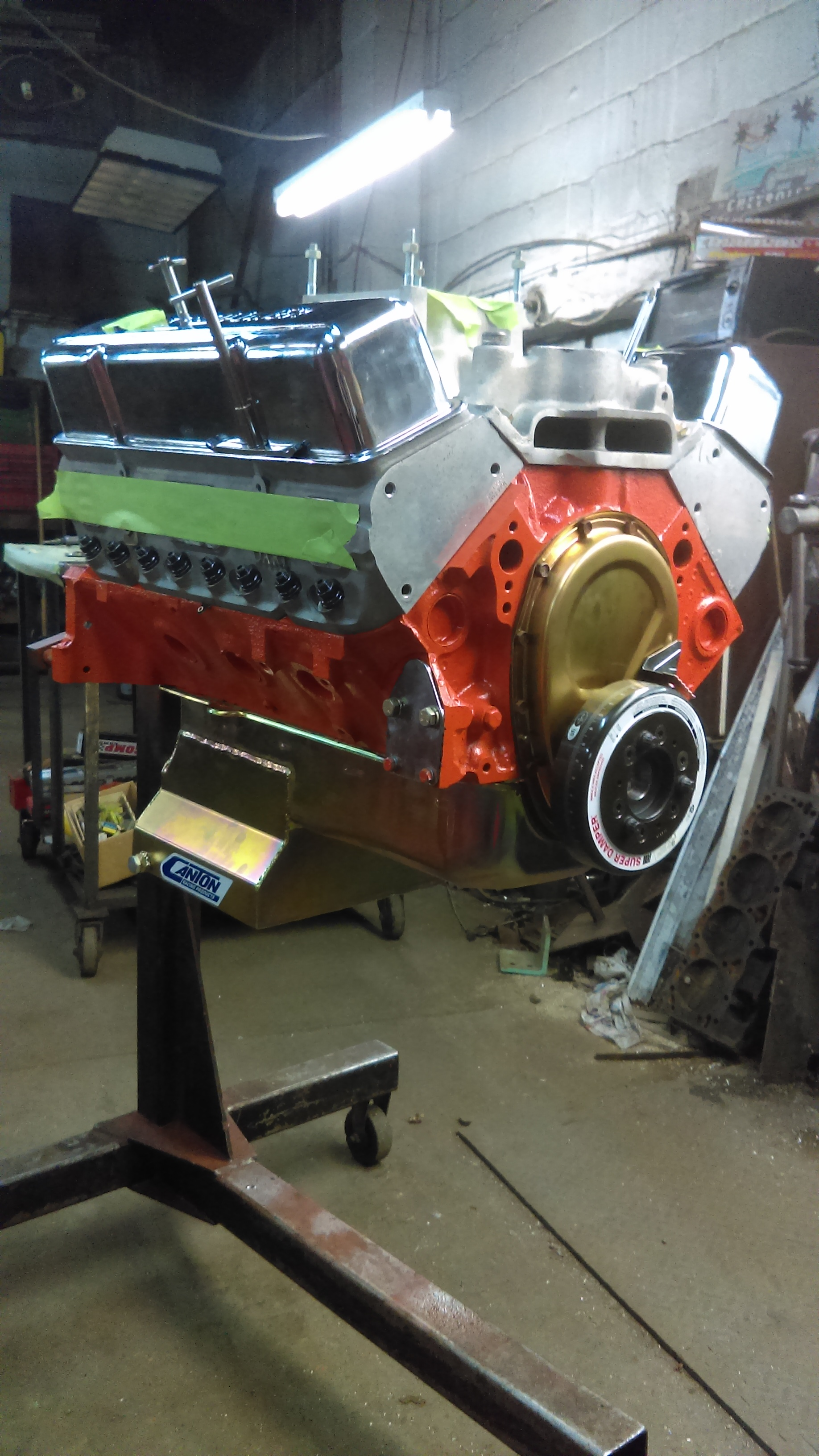 406 chevy small block race engine engines with dart heads from salvo brothers motorcars coatesville PA