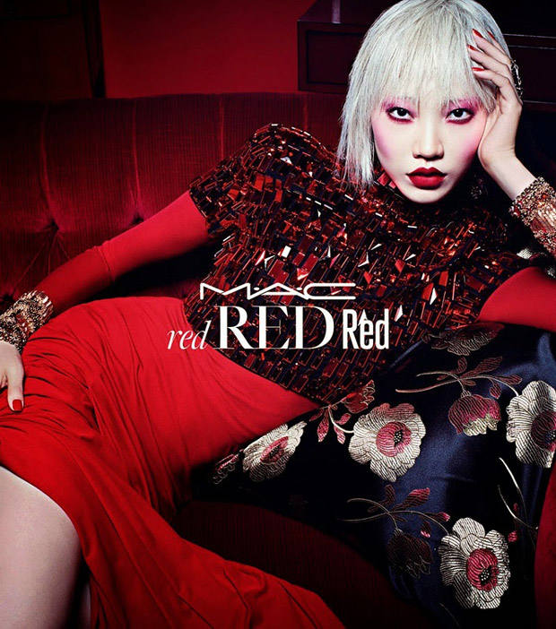 Soo Joo Park for MAC Red Cosmedics Holiday 2014