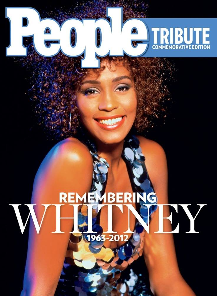 People Magazine Remembering Whitney March 2012