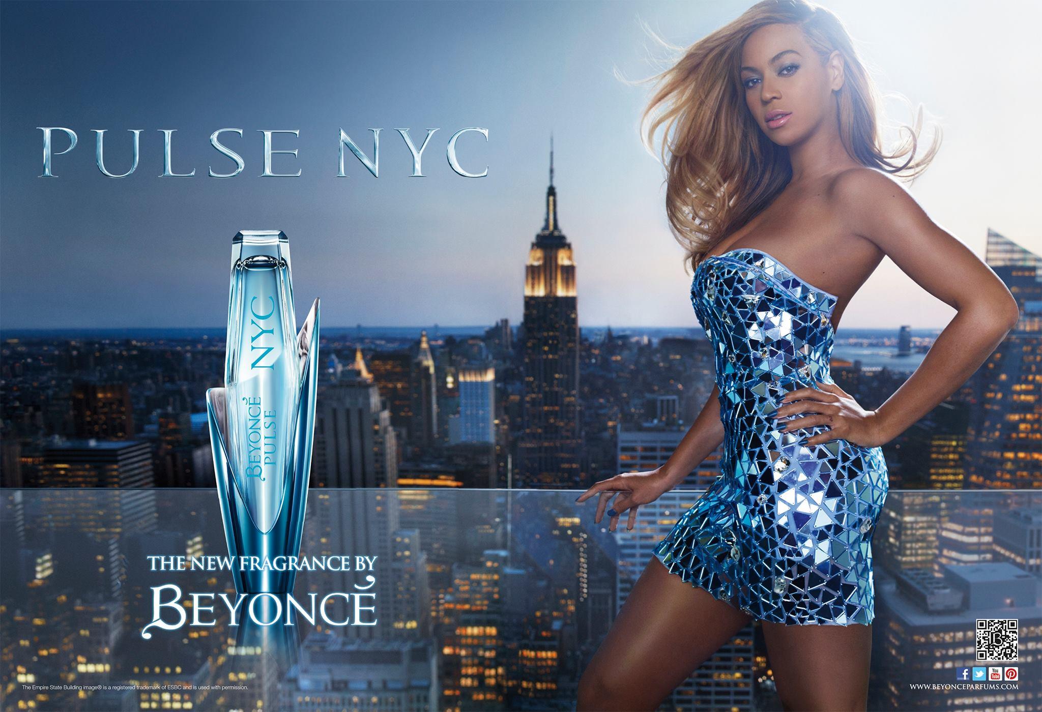 Beyonce's Pulse NYC ad 2012