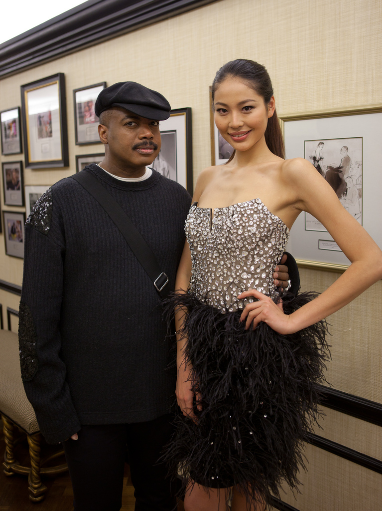 CD Greene & Luo Zi Lin (Roseline Luo) Miss Universe China, Bergdorf Goodman - Affinity China - Dragon Week 2012