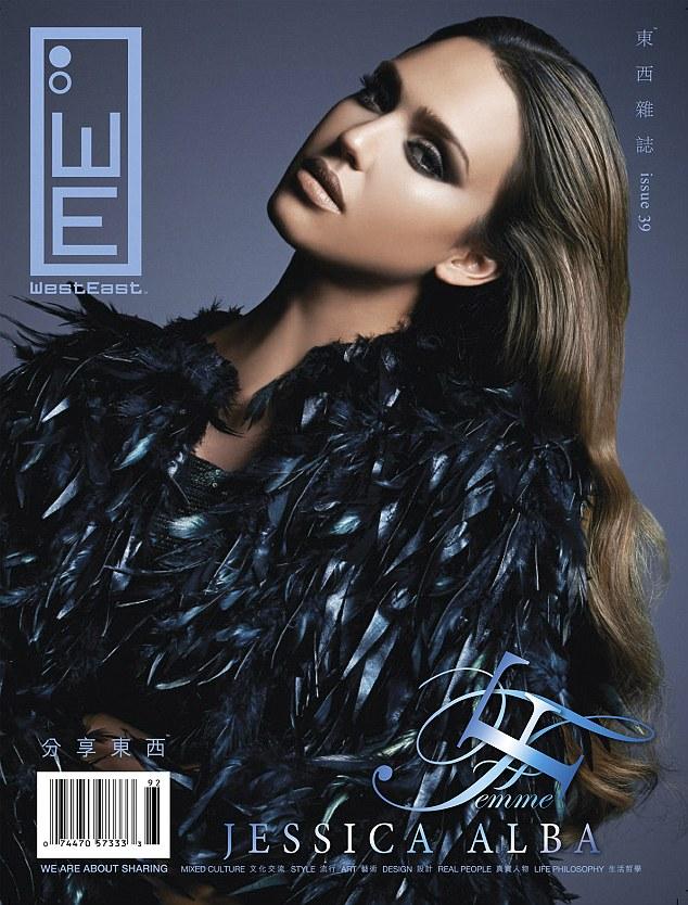 Jessica Alba for WestEast Magazine 2013