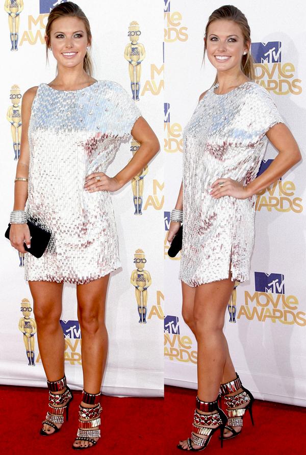 Audrina Patridge at the 2010 MTV Movie Awards