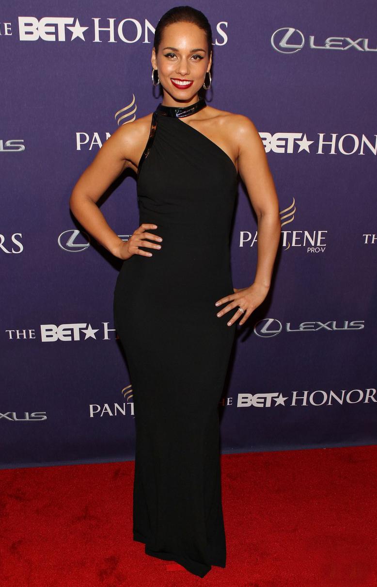 Alicia Keys at BET Honors 2013