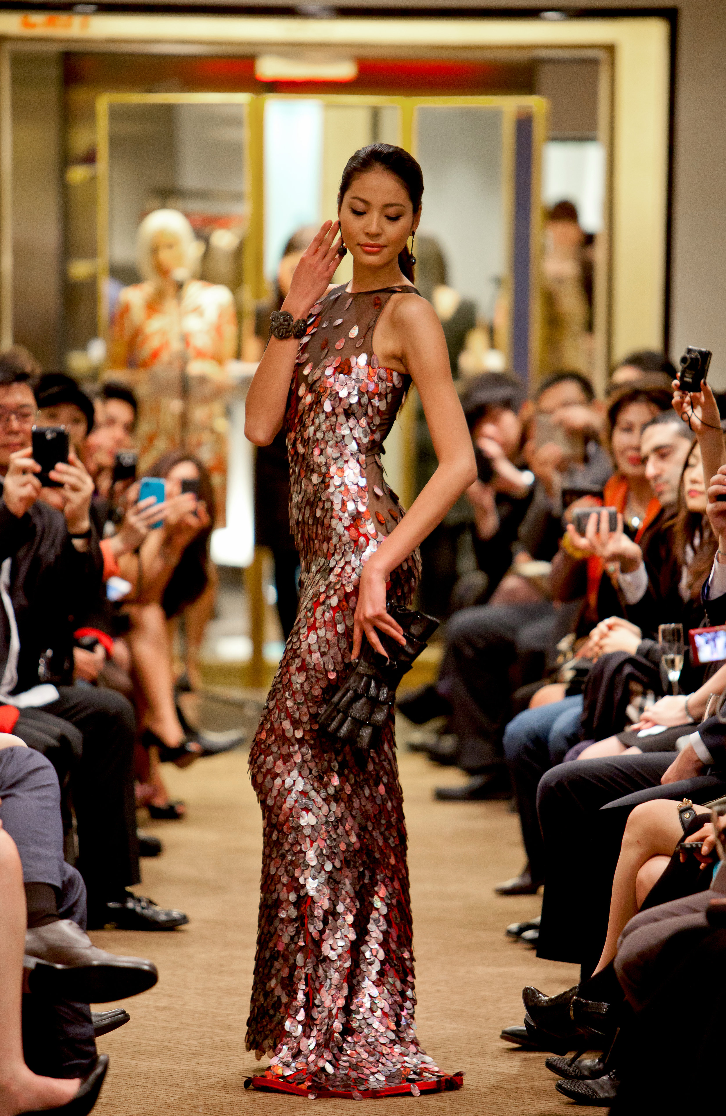 Luo Zi Lin (Roseline Luo) Miss Universe China - Affinity China - Dragon Week 2012