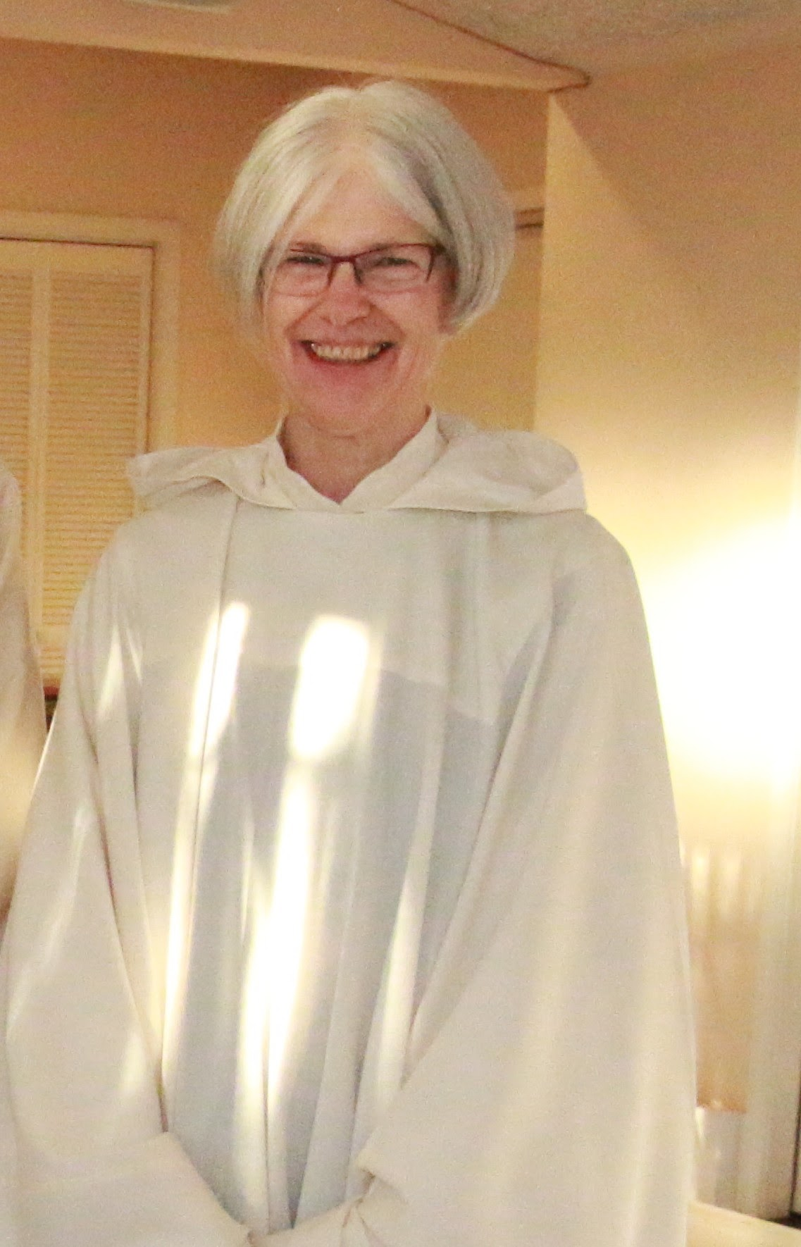 Sister Suzanne, OCSO, Vocation Director, Redwoods