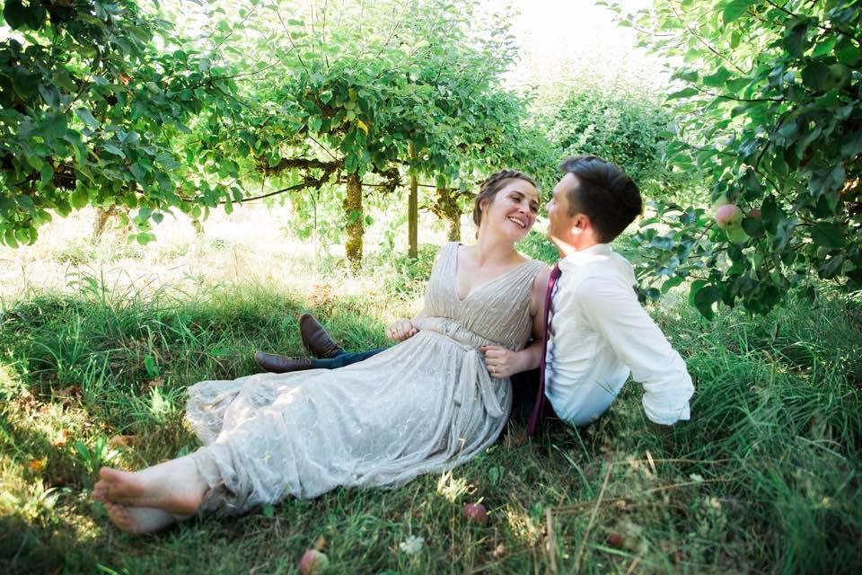 Demri and Carter Wedding HJF Orchard Farm