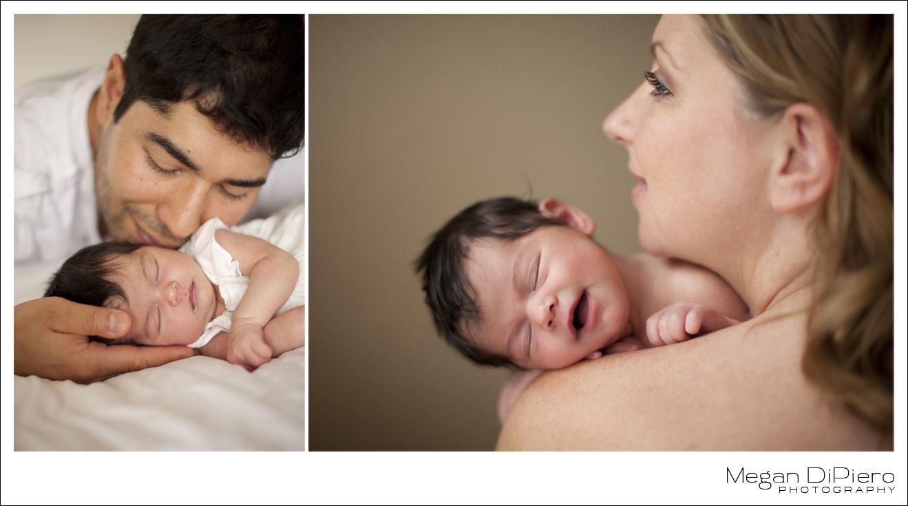 Megan DiPiero Photography {Keeping It Real: Natural Newborn Portraits}