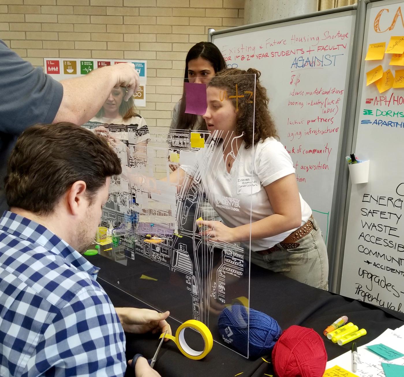 University of Denver Students Designing the Future