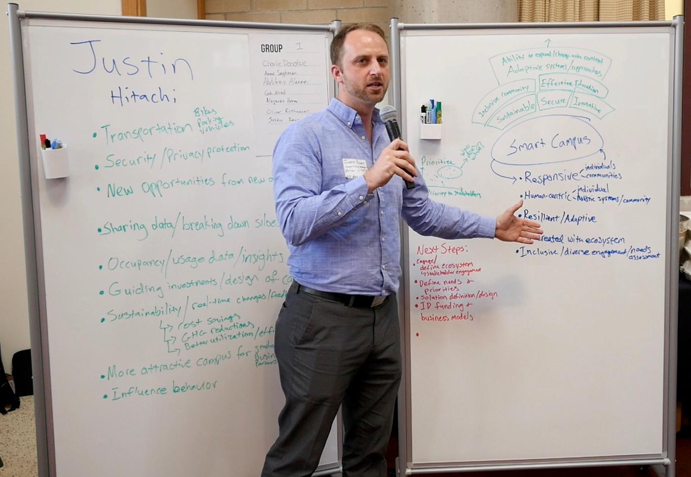 Justin Bean of Hitachi Vantara Explaining Ecosystems