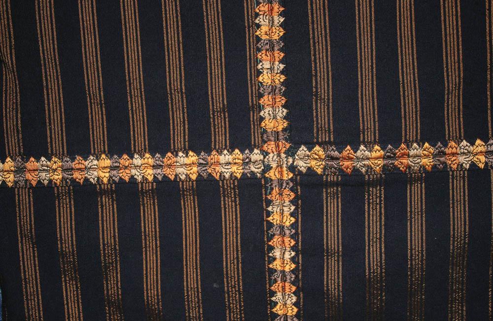 Detalle de randa corte Sololá, Sololá MI-06385 ©Archivo Fotográfico Museo Ixchel del Traje Indígena Fotógrafo. Anne Girard