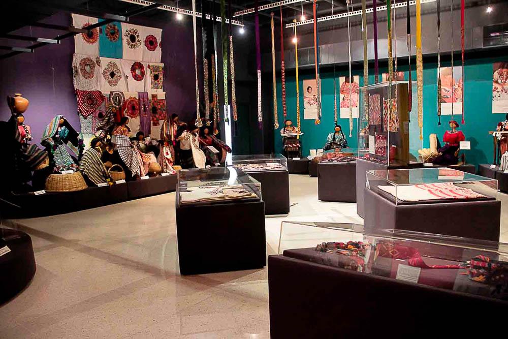 Vista Sala de Bordados © Archivo Fotográfico Museo Ixchel Fotógrafo. Armando Mazariegos