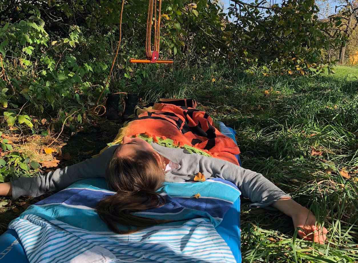 Balance-Finder Session in der Natur mit der hang-free Methode