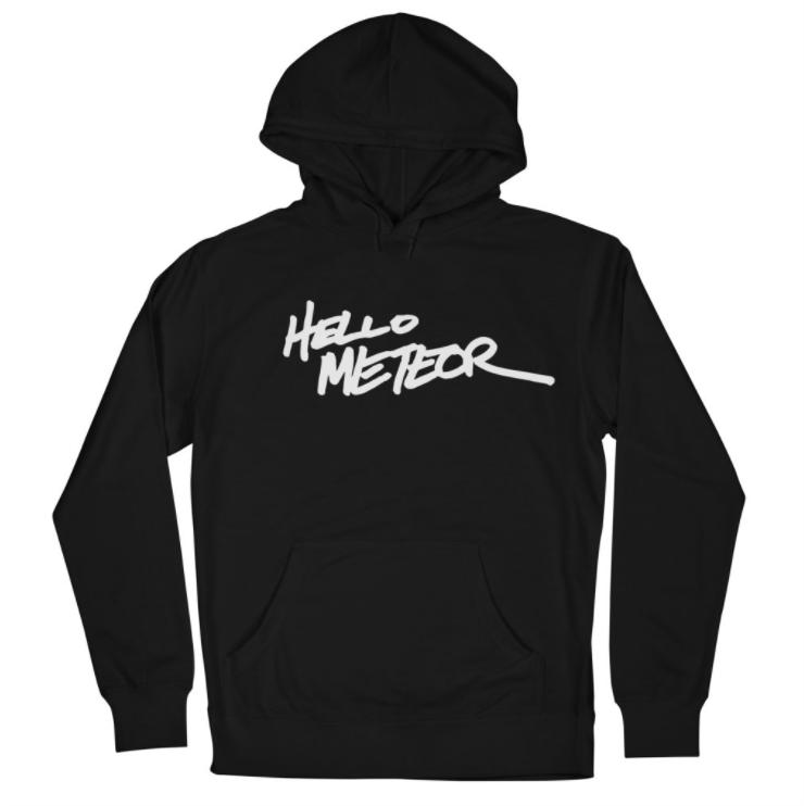 Women's Heritage Logo Hoodie - Black - $45