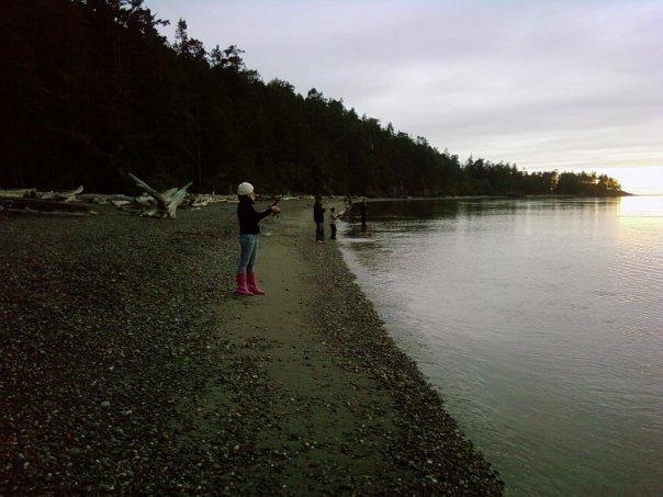 Fishing on my home island.
