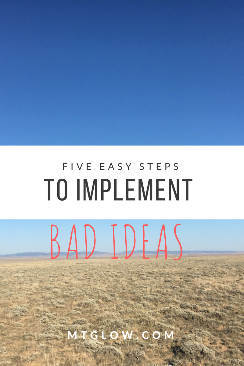 Good and Bad Ideas