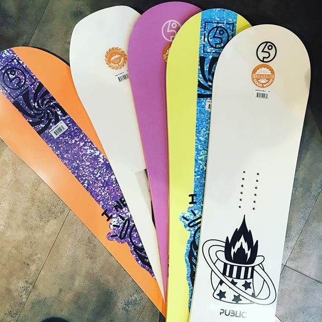 The Good Wood winners have arrived! We're stoked on these new @thisispublic boards! DM us to order yours... we ship nation wide!