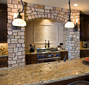 Granite Enhances any Living Room