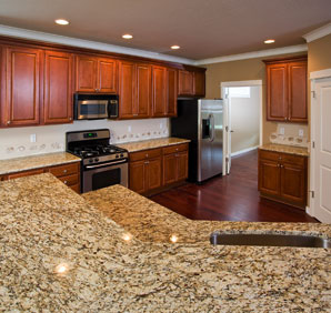 Granite is very durable and virtually maintenance free