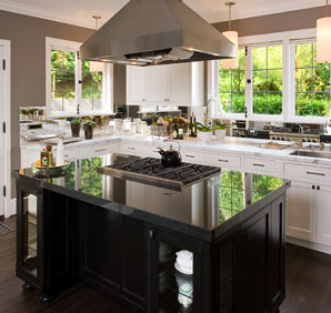 There are many options when choosing a granite countertop design.