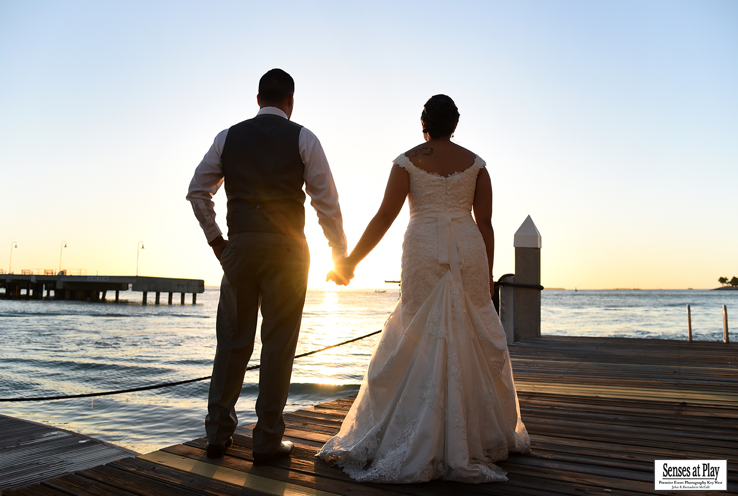 Key West Bride and Groom | Senses At Play Photography
