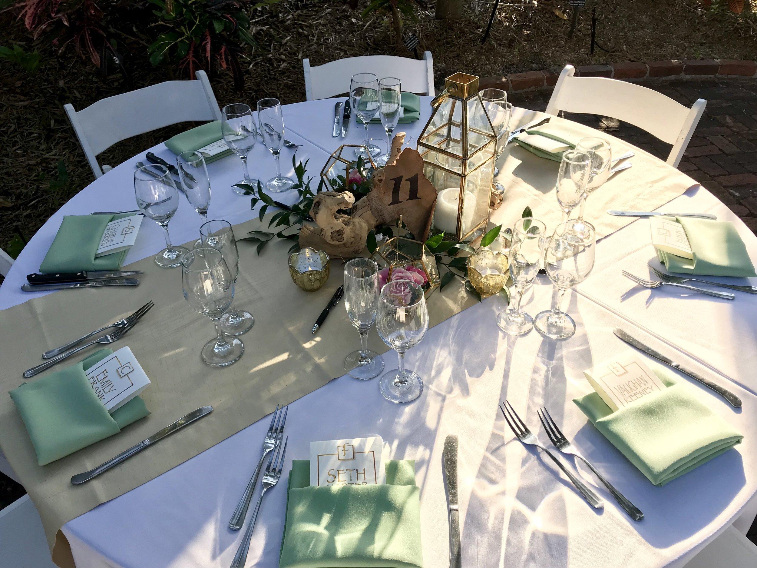 wedding Decor Table Setup