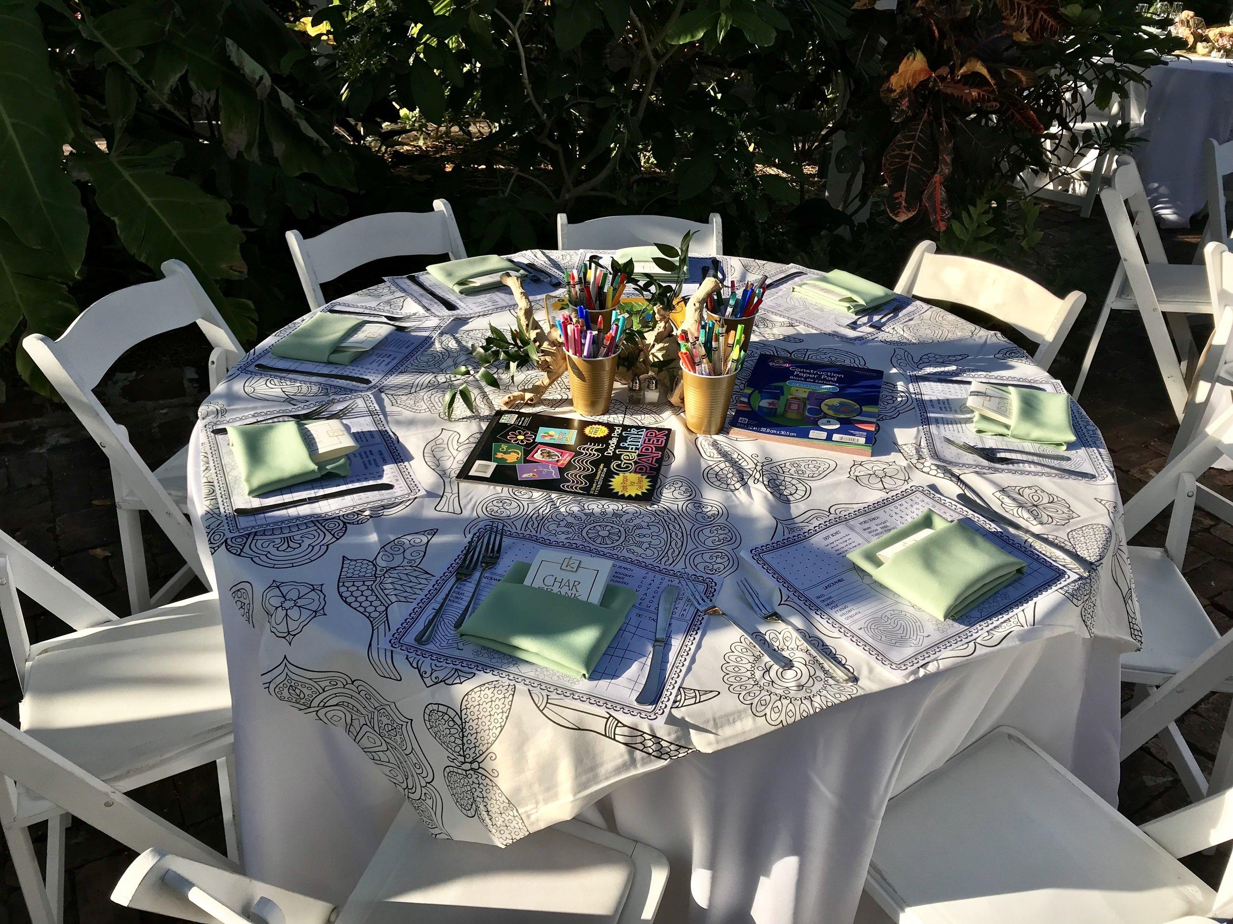 Wedding Children's Table
