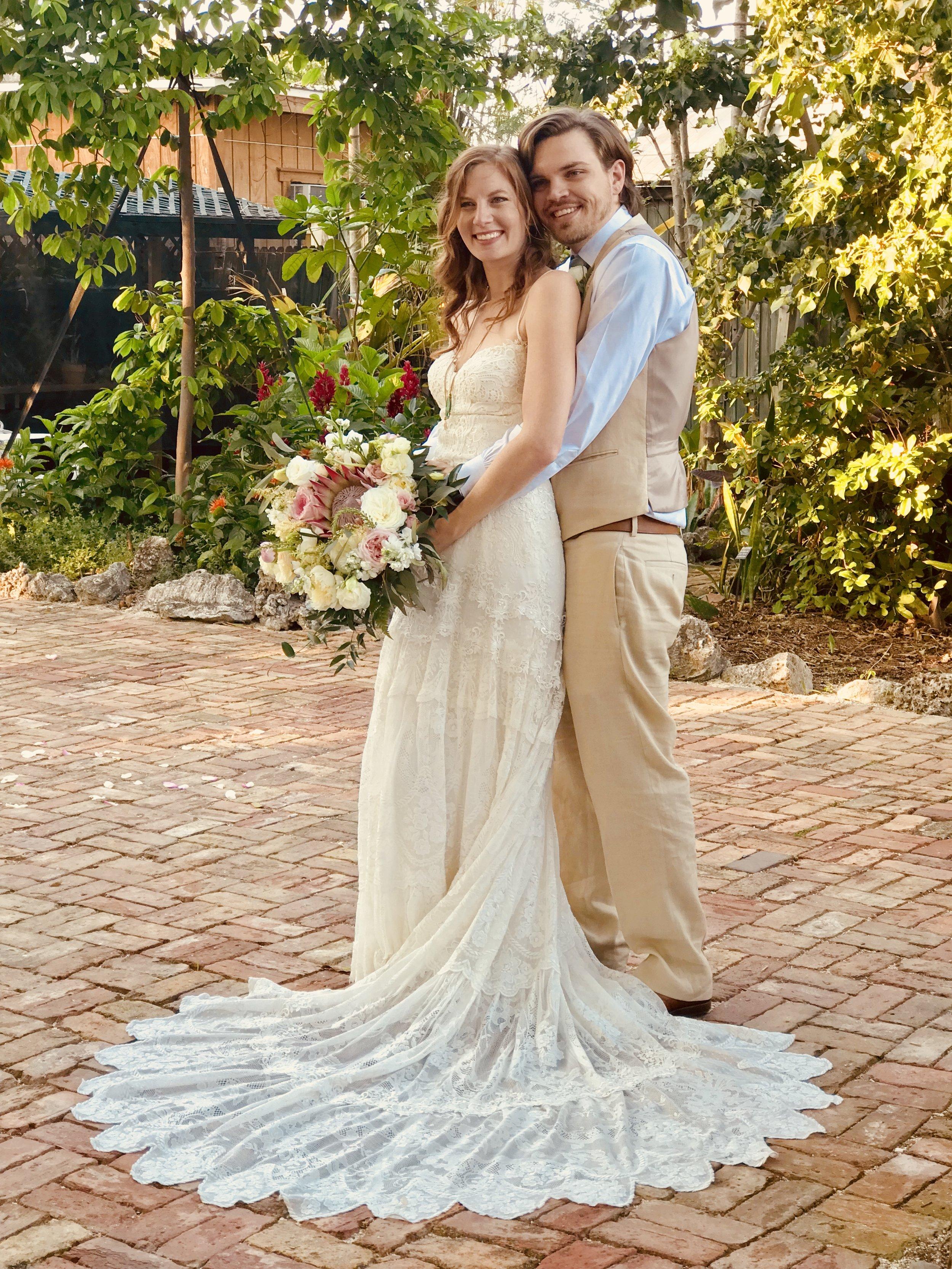 Key West Bride and Groom