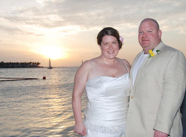MICHELLE + KIP | HYATT KEY WEST WEDDINGS