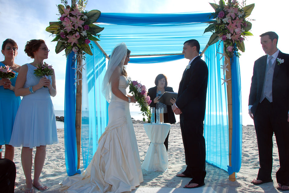 EDITH + MIKE | SMATHERS BEACH KEY WEST WEDDINGS