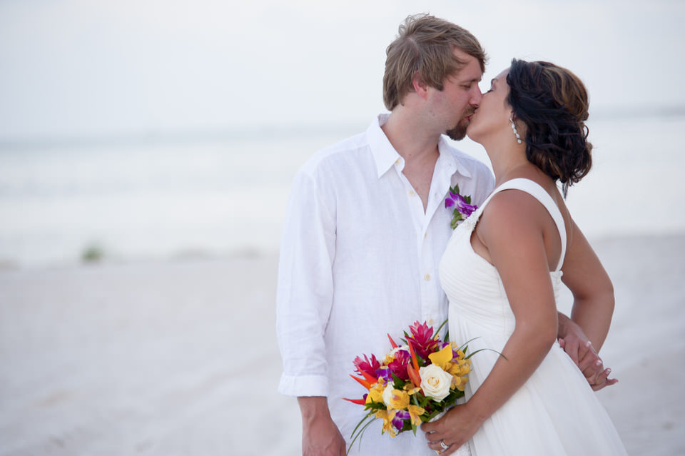 BROOKE + DUSTY | SMATHERS BEACH KEY WEST WEDDINGS