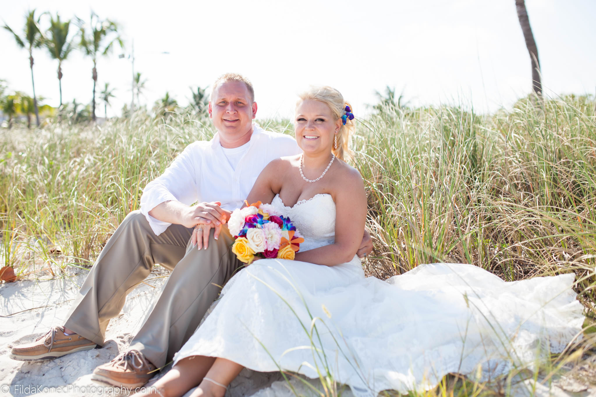 ASHLEY + CORY | SMATHERS BEACH KEY WEST WEDDINGS