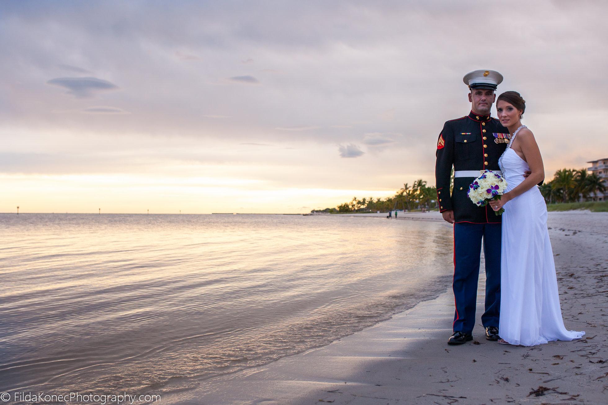 CARRIE + BRYON | SMATHERS BEACH KEY WEST WEDDINGS