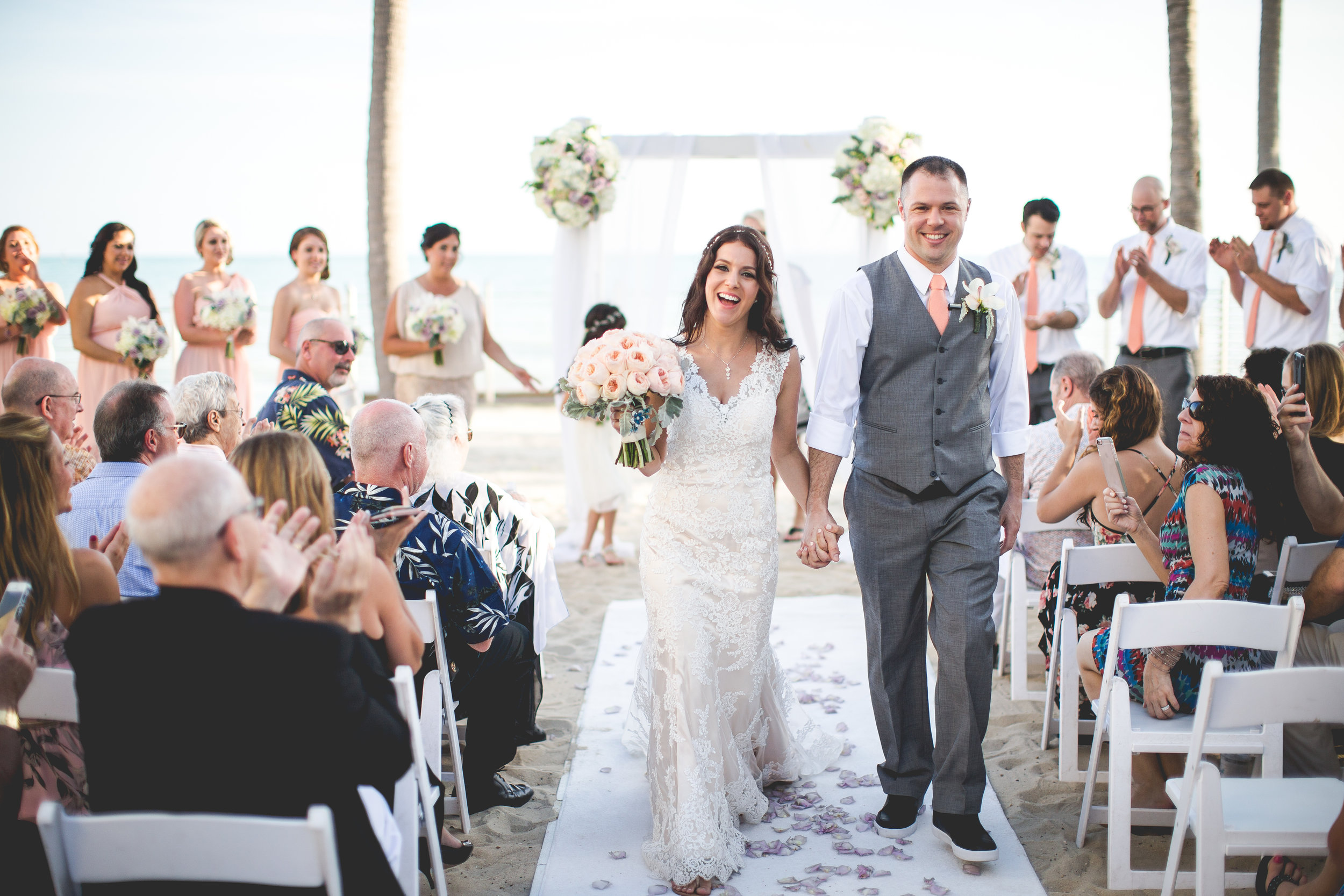 Key West Beach Wedding_Infinite Loop Photography
