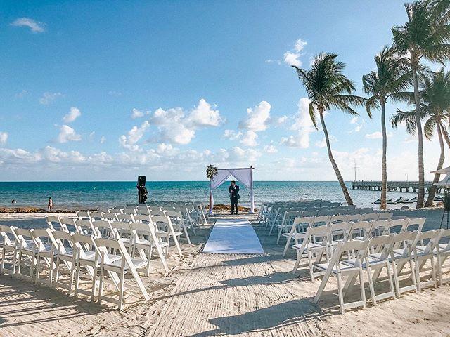 "The ocean stirs the heart, inspires the imagination and brings eternal joy to the soul. ~ Are you ready to say your ""I do's"" with this setting? ~ Let is know, we can make that happen! • • • • #destinationwedding #luxurywedding #beachwedding #weddingday #happilyeverafter #weddingvibes #keywest #flkeys #soireekeywest #hireaplanner #weddingplanner #partyplanner #weddingpro #dayofcoordination #lifeofaweddingplanner #love #palmtrees #oceanview #igerswedding #weddingdecor #eventdesign #weddingstylist #weddinginspo #weddingdetails"