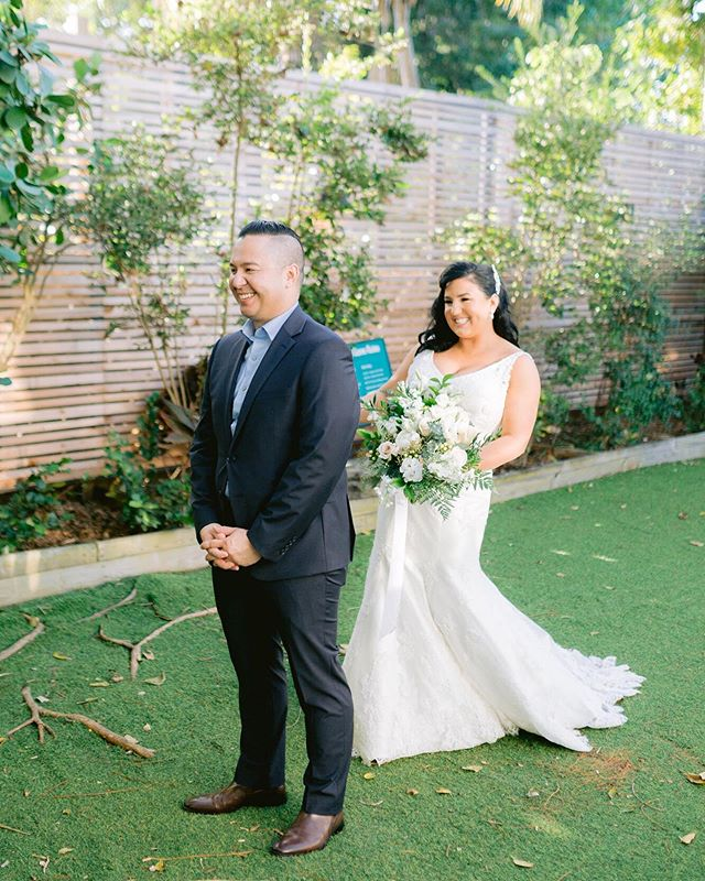 """Are you planning on doing a """"first look"""" or keeping it traditional? A #firstlook allows you to ensure great lighting for your photos and also allows you to attend your cocktail hour. We highly recommend it! 📸 @lavryk.photography • • • • #brideandgroom #husbandandwife #newlyweds #destinationwedding #weddingday #happilyeverafter #bestdayever #justmarried #weddingvibes #keywest #flkeys #soireekeywest #hireaplanner #weddingplanner #partyplanner #weddingpro #dayofcoordination #lifeofaweddingplanner #dreamwedding #weddingtrends #love #igerswedding #weddinginspo"""