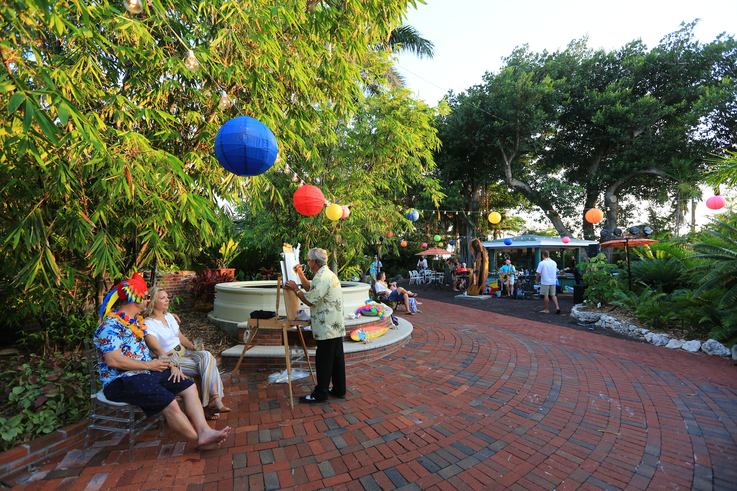 Key West Garden Club at West Martello Tower   Photo by Solaris Photography