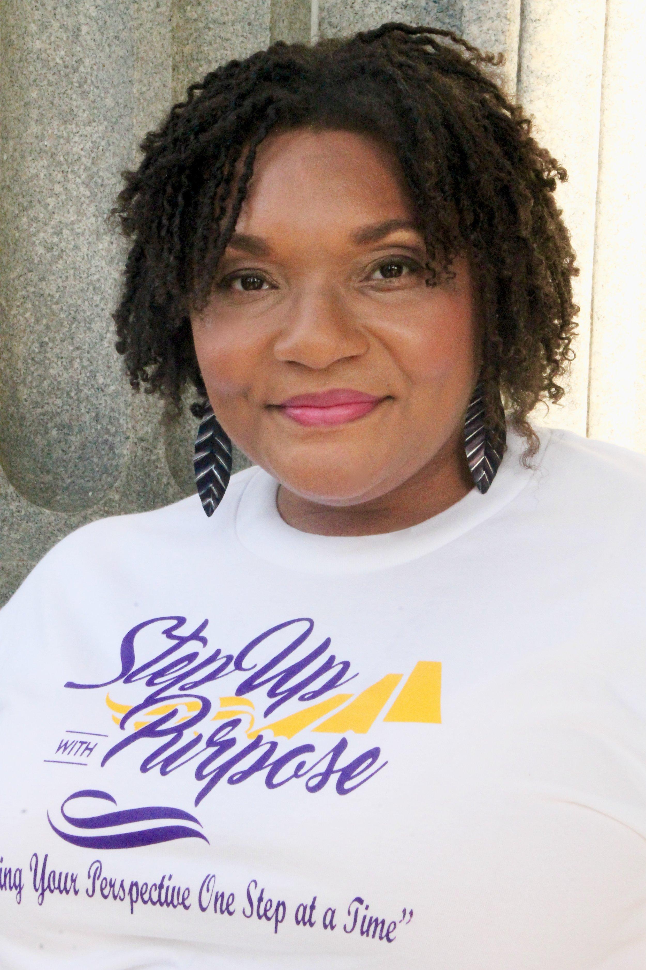 Latina Sabb,  Executive Director &Chief Motivator    Step Up with Purpose