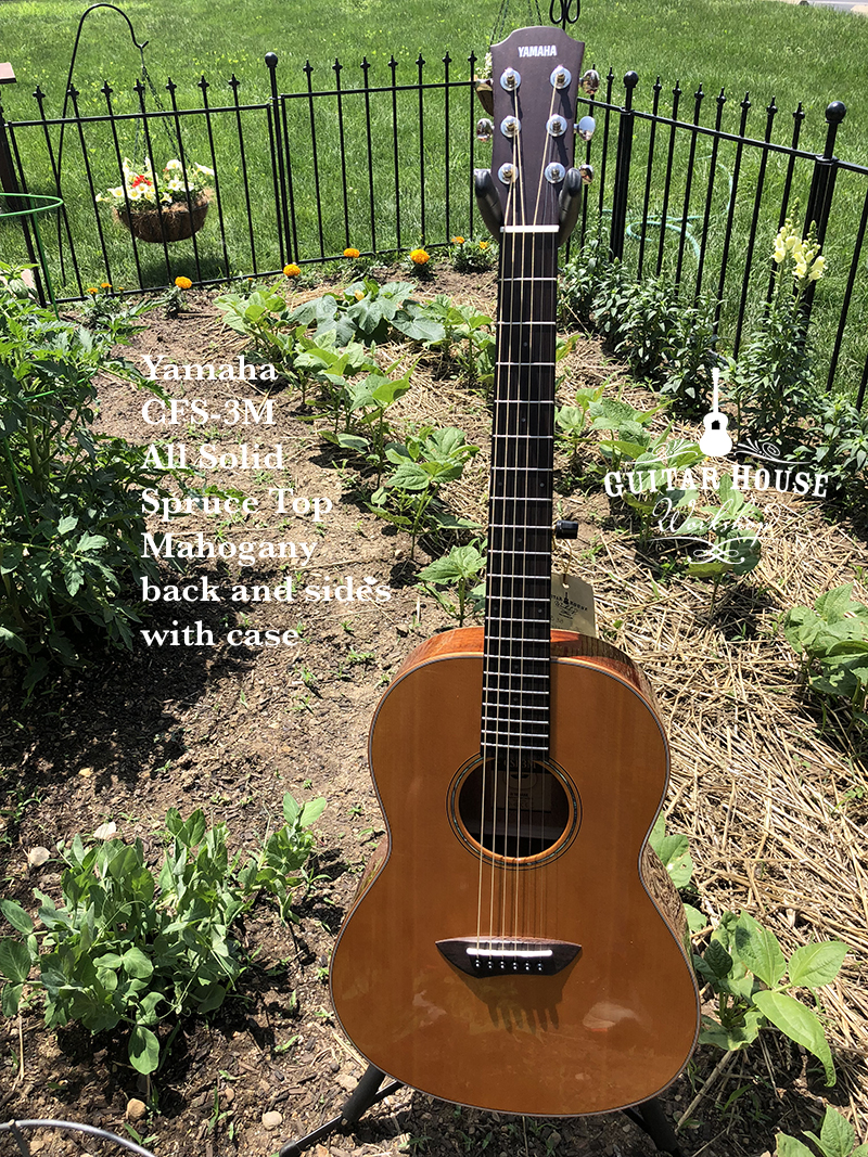 Yamaha CSF3M All Solid Parlor  can be ordered