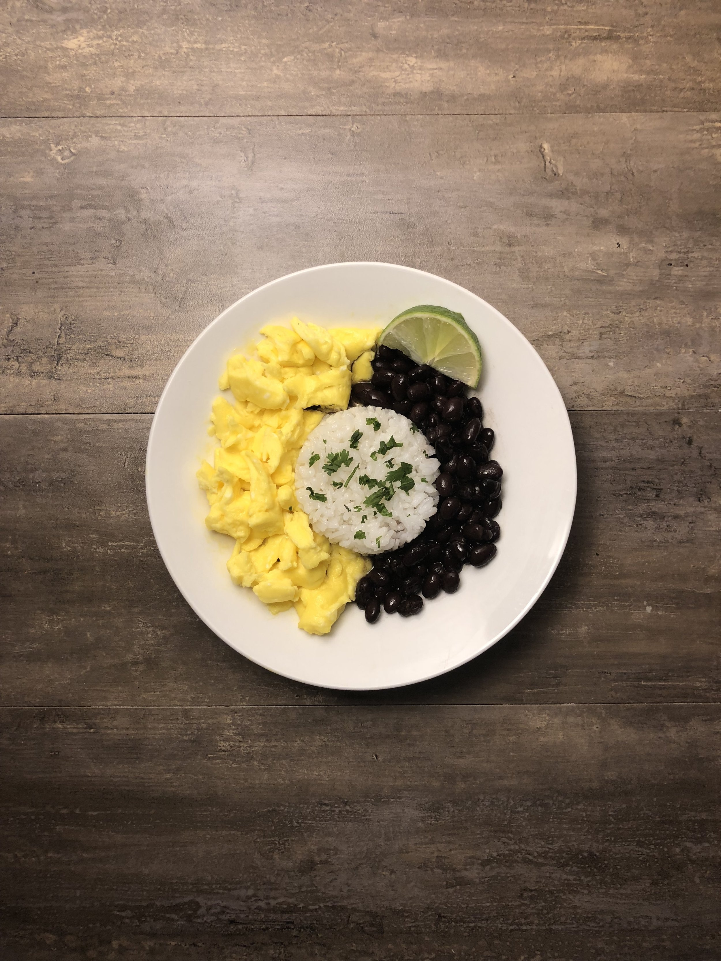 5-Minute Rice and Beans